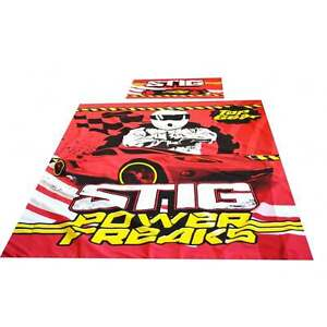 Top-Gear-Stig-Power-Freaks-couette-unique-jeu-officiel-Top-Gear-marchandise