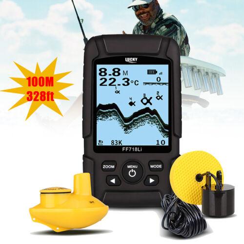LUCKY FF718Li Dual-Frequenz-2-in-1-Sonarkabel & Wireless Fish Finder Wasserdicht