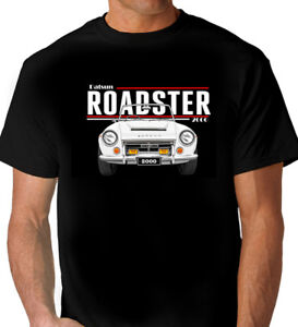 DATSUN-2000-ROADSTER-FAIRLADY-QUALITY-BLACK-TSHIRT-MEN-039-S-LADIES-KID-039-S