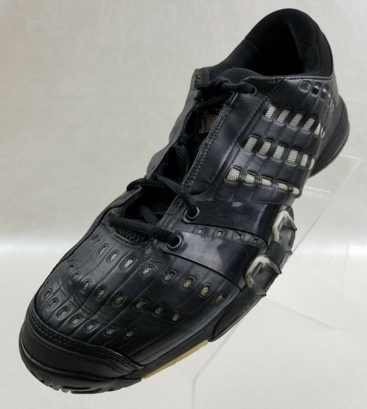 Adidas Sneakers 779001 Black Silver Clima Cool Ape Athletic Mens shoes Size 12