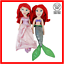 Ariel-Disney-Soft-Toy-Mermaid-Princess-Doll-Bundle-Plush-Stuffed-Figure-Lot thumbnail 1