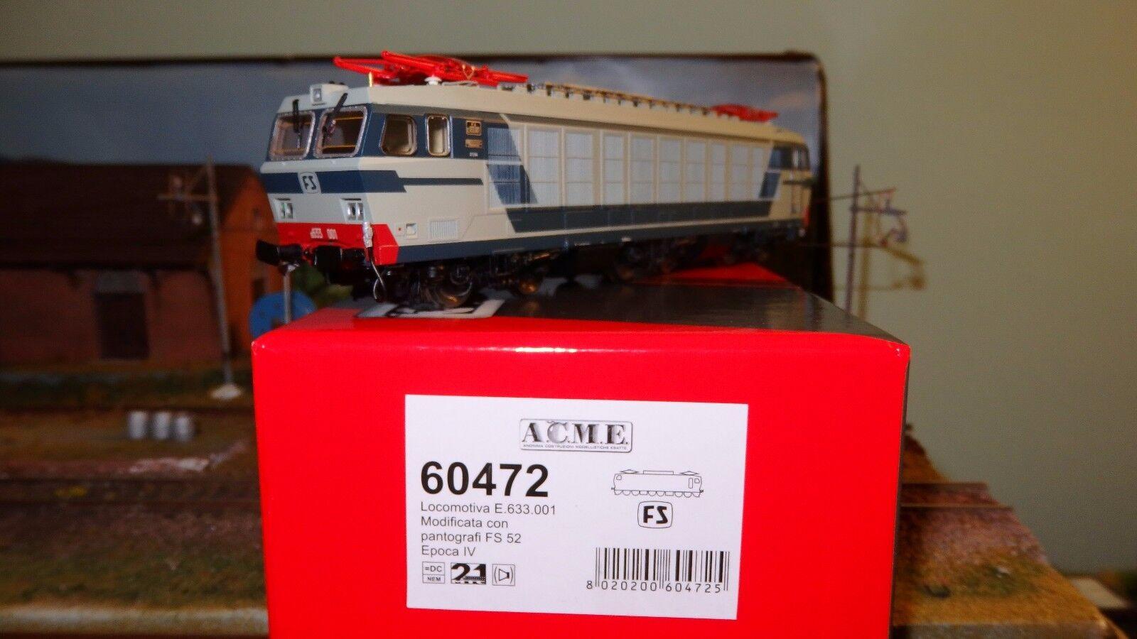 ACME 60472 E633 001 Livrea blå  grå, senza vomeri, pant.52, reostato ridotti
