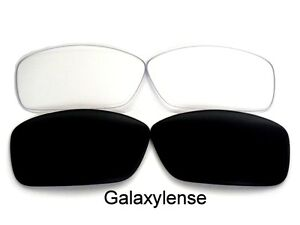 Galaxy-Replacement-Lenses-For-Oakley-Hijinx-Sunglasses-Black-amp-Clear