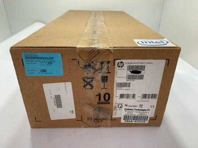 666162-B21- HP ProLiant BL460c Gen8 E5-2609 1P 16GB P220i SFF Blade Server