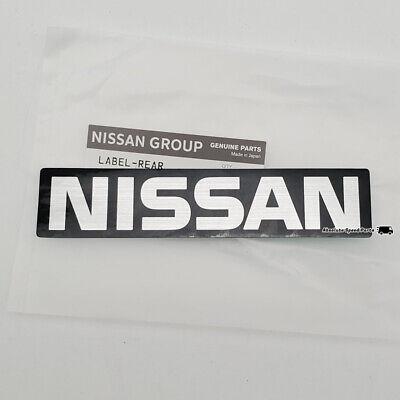 SUNNY SCRIPT May Suit Datsun or Nissan Emblem Chrome Plastic Badge *NEW*