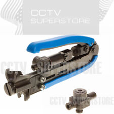 RG59 RG6 RG11 Adjustable Coax Compression Tool F BNC RCA Crimper Cable Connector
