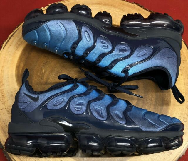 Ya Cabina Glosario  Nike Air Vapormax Plus Obsidian Blue Photo VM Max Tuned Size 8 924453-401  5f for sale online | eBay