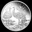 AUSTRALIE-1-Dollar-Argent-1-Once-Emu-2019 miniature 1
