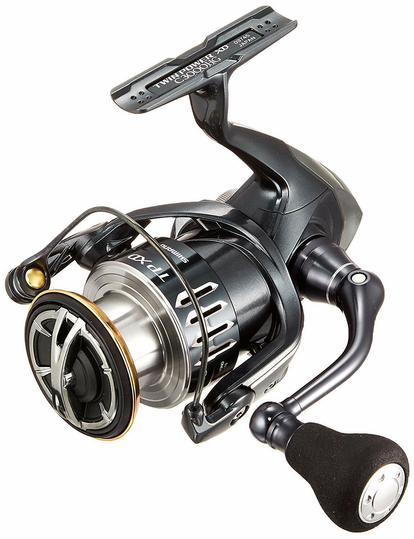 Shimano 17 Twin Power XD C3000HG Spinning Cocheretes Pesca Nuevo Japón