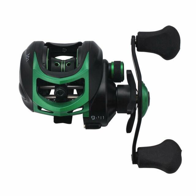 High Speed Bait Casting Fishing Reel 20 Ball Bearings 9.1:1 Lure Fish Wheel Kits