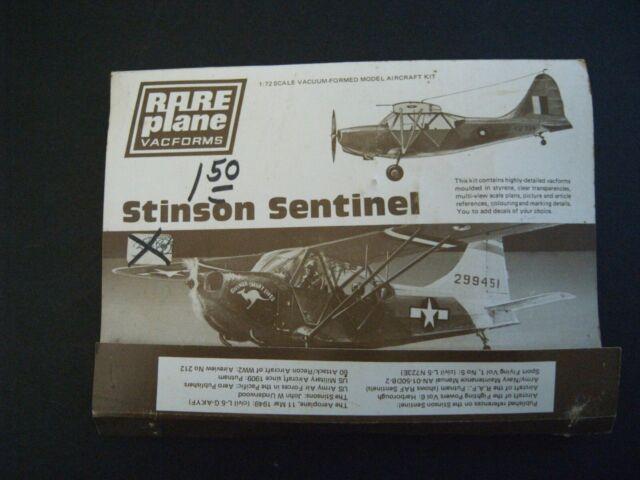 RARE PLANE VACFORM 1:72 SCALE STINSON L-5A SENTINEL MODEL AIRPLANE KIT