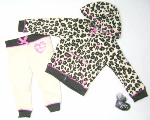 MSRP $42.00 XOXO Girls/' 2 Pc Set Fleece Jacket and Pant 4-6X