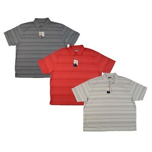 Men-039-s-Grand-Slam-MotionFlow-Performance-Striped-Golf-Polo-in-3-Colors-amp-Size-4XB