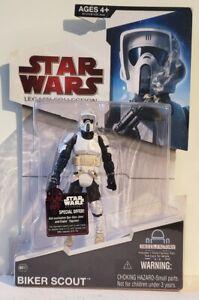 """Star Wars Legacy (BD12) Biker Scout 3.75"""" Figure"""