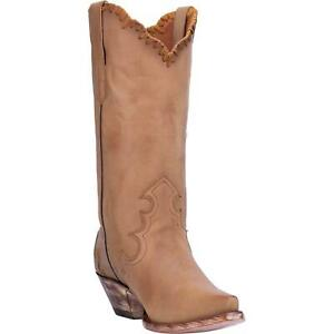 Dan-Post-Denise-DP3779-Womens-Camel-Leather-12-034-Western-Boots