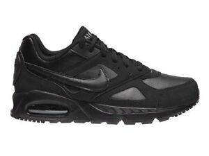 Nike Air Max Ivo Ltr Triple Black Mens Trainers New RRP £100.00 Box ... 74ee4f350