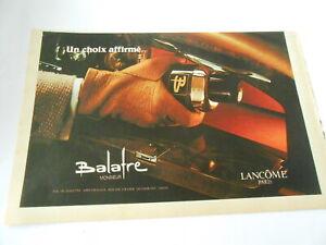 Publicite-de-Presse-1966-Balafre-Lancome-Un-choix-affirme-Monsieur