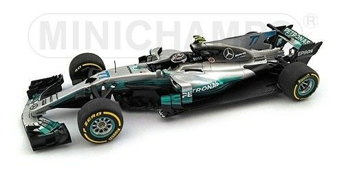 MERCEDES w08 Valtteri Bottas Spanish GP 2017 f1 formula 1 1 43 MODEL MINICHAMPS