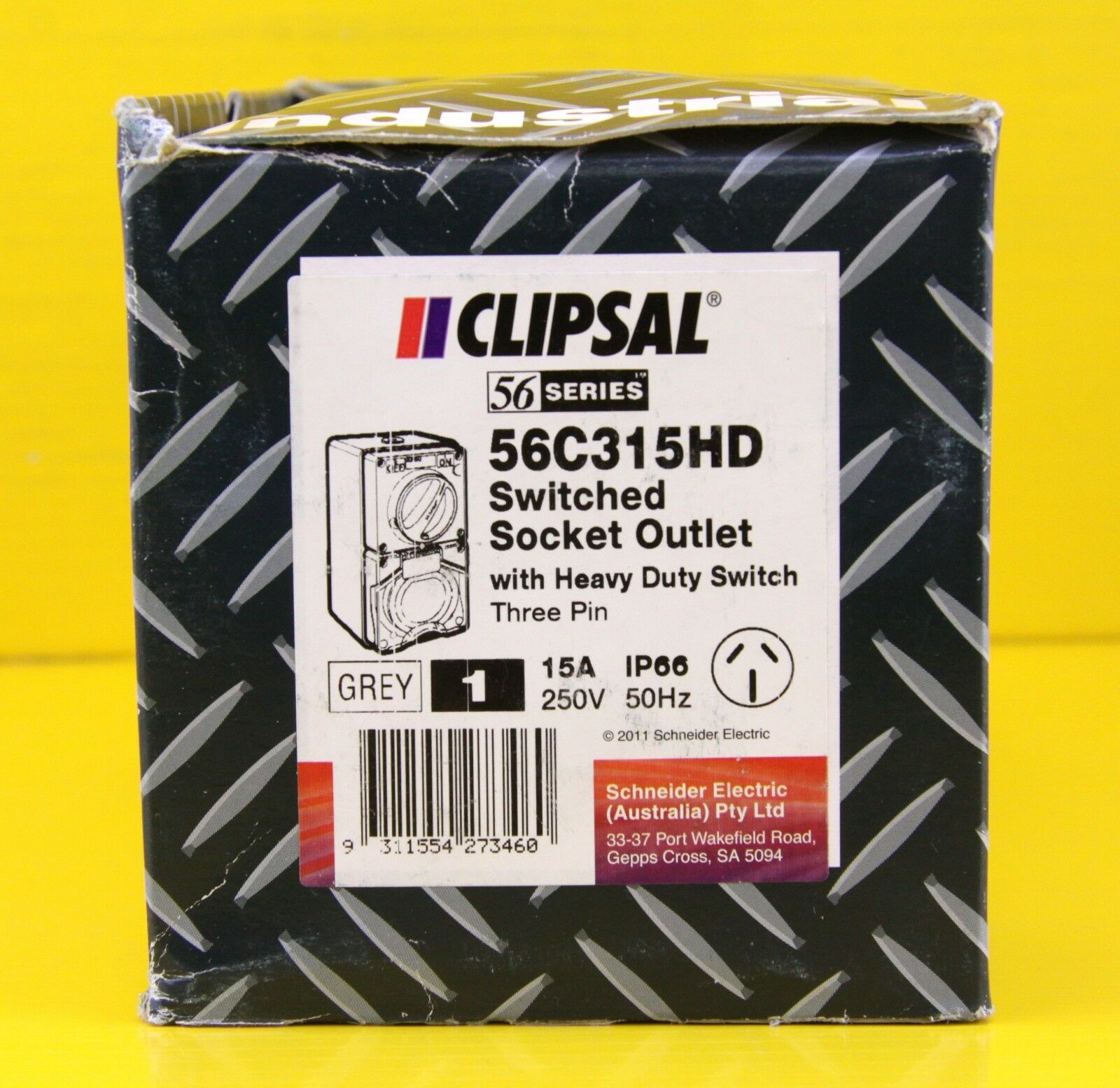 Clipsal 56c315hd Switched Socket Outlet Single Phase 3 Pin Power Australian Dual Socketoutlet Construction Point 15a 250v Ebay