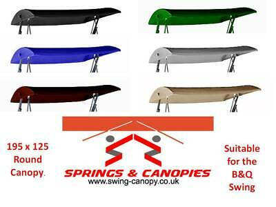 1Set Replacement Canopy Cover Set For B/&q Garden Swing