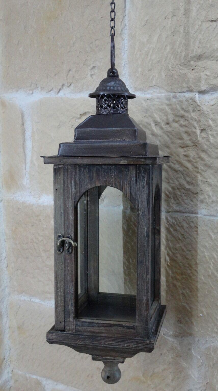 Laterne Kerzenständer Holz   Metall Windlicht Windlicht Windlicht Kerzenhalter Gartenlaterne 8282  | Überlegene Qualität  e9f4f6