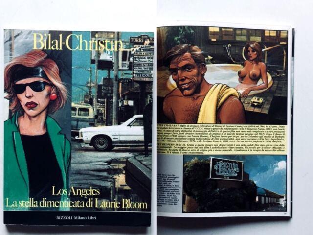 Bilal Christin Los Angeles Stella dimenticata di Laurie Bloom Milano Libri 1987
