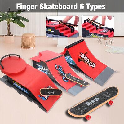 UK 1 Set Skate Park Kit Ramp Parts For Tech Deck Finger Board Handrail Ultimate Sport Training Props Games