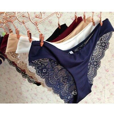 Women Sexy Lace G-string Briefs Panties Thongs Lingerie Underwear Knickers Hot