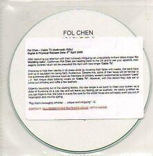 (898D) Fol Chen, Cable TV - DJ CD