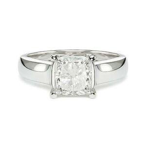 1 54 H Vs2 Princess Square Cut Diamond Engagement Ring Ebay