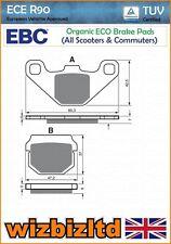 EBC Trasero Pastillas De Freno Orgánica SFA Quadro 350 S 13-15 SFA83