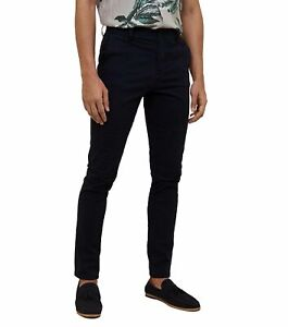 MENS-BLACK-SKINNY-FIT-CHINOS-SMART-CASUAL-TROUSERS-STRETCH-JEANS-PANTS-ALL-SIZES