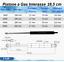 1-PISTONE-A-GAS-MOLLA-PER-LETTO-CONTENITORE-16-TIPI-DI-INTERASSE-RICAMBIO miniatura 5