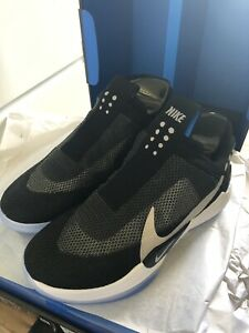 check out bc688 df2c4 Image is loading 2019-Nike-Adapt-BB-AO2582-001-Black-Power-