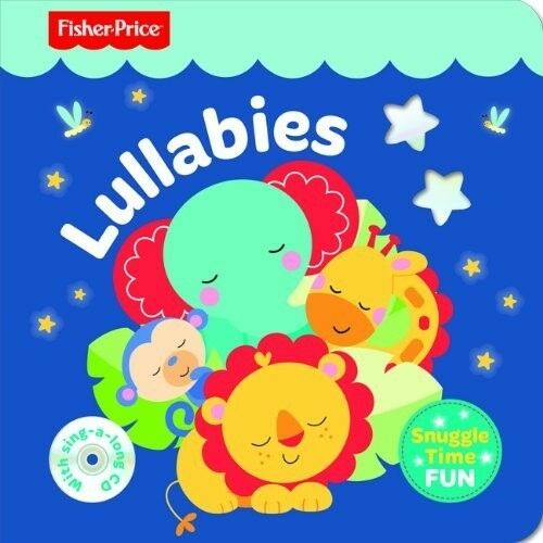 New, Fisher Price Snuggletime- Lullabies with CD, Mattel, Book