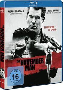 THE-NOVEMBER-MAN-Pierce-Brosnan-Luke-Bracey-Blu-ray-Disc-NEU-OVP