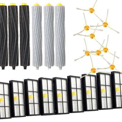 For iRobot Roomba Filters 800 900 Series Part Kit 880 890 960 980 Vacuum Brush U