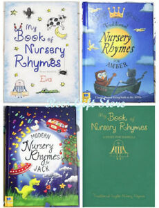 Image Is Loading Personalised My Book Of Nursery Rhymes Reading Books