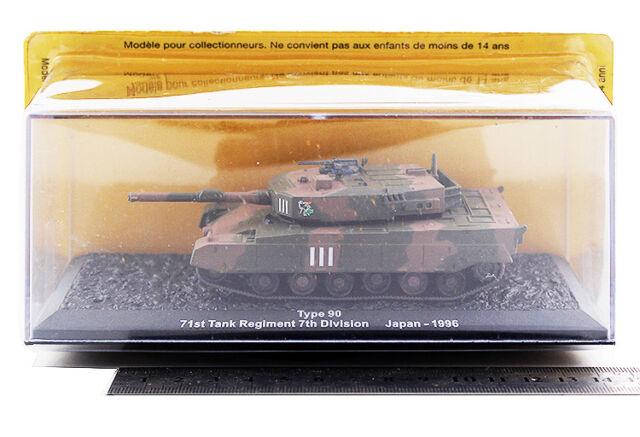 Altaya 1:72 Type 90 Main Battle Tank 71st Regiment 7th Division Japan ALT0058