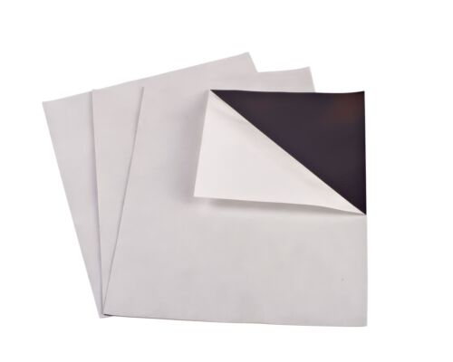 "10 35 MIL 8""X10"" ADHESIVE MAGNET SHEETS MADE IN USA"