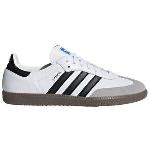zapatos hombres blancos adidas