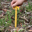 5X Screw Spiral Peg Stakes Nail Outdoor Camping Awning Trip Spiral Nails Tent