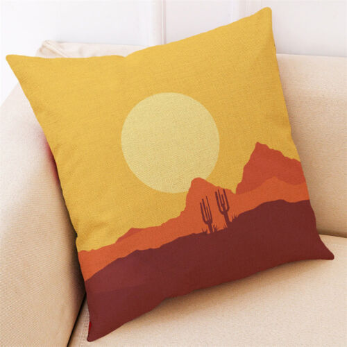 CW/_ ALS/_ BL/_ AU/_ Home Decor Cushion Cover Yellow Throw Pillow Case for Car After