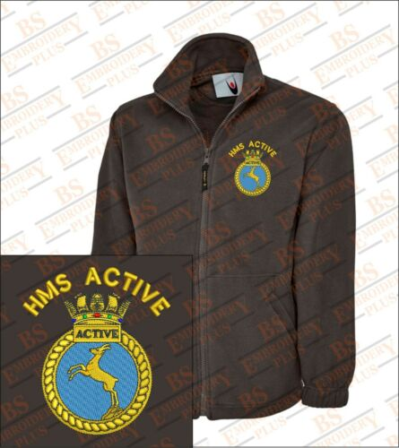 Active Class Manteau Polaire Brodᄄᆭ Hms Avec 21 Type txdCshQr