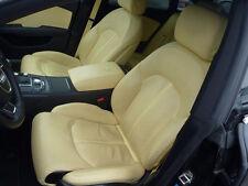 Audi A7 4G Valcona Beige Massage Lederausstattung Ledersitze Premium Ausstattung
