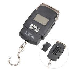 50kg/10g LED Digital Scale Portable Carp Fishing Travel Luggage Backlight Scales