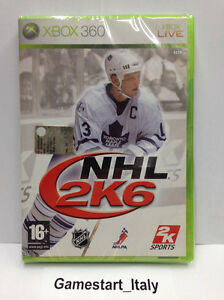 NHL-2K6-HOCKEY-2006-XBOX-360-VIDEOGIOCO-NUOVO-SIGILLATO-NEW-GAME