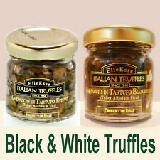 2x30g Italian Truffle Carpaccio 1x black Tuber aestivum & 1x white Tuber albidum