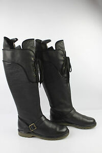 a See Rider T Pelle nera By Chloe Boots 38 grana High Tbe q0UgwEBE