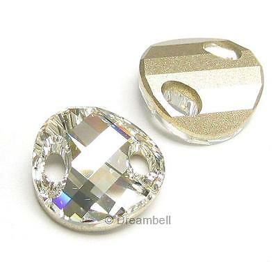 Swarovski Elements Crystal 3221 TWIST SEW-ON Stone (Many Colors and Sizes)